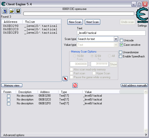 Hacking root variables with Cheat Engine (Page 1) - KongHack