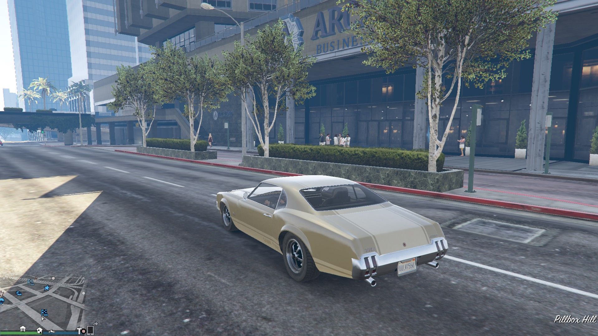 The car I stole