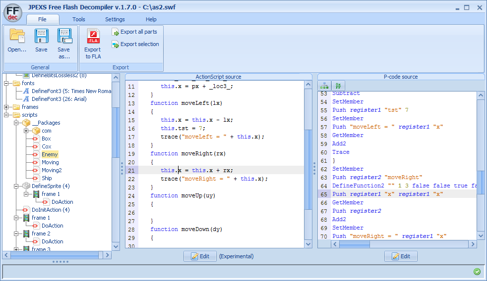http://www.free-decompiler.com/flash/screenshots/version1.7.0_as2.png